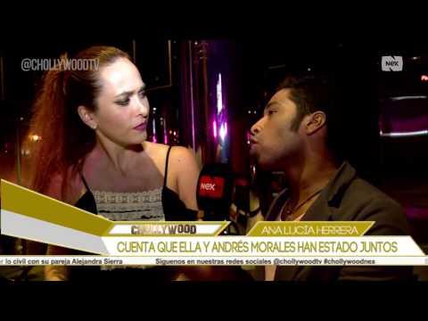 Cuenta que ella y Andrés Morales han estado juntos