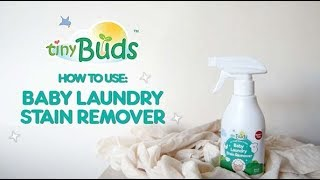 The New Baby Laundry Stain Remover - No need to Soak!