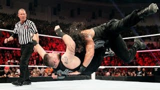 WWE RAW 12 Sept 2016 - Roman Reigns VS Kevin Owens (Highlights)