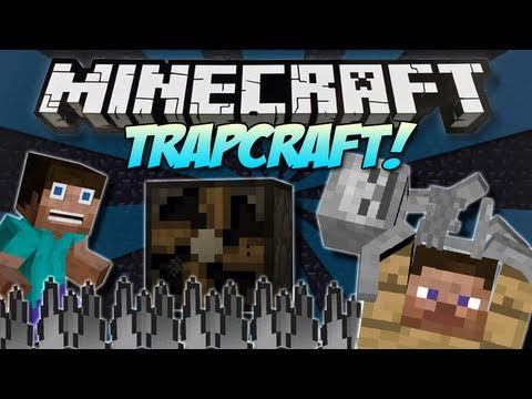 Minecraft   TRAPCRAFT! (Troll your friends!)   Mod Showcase [1.4.7]