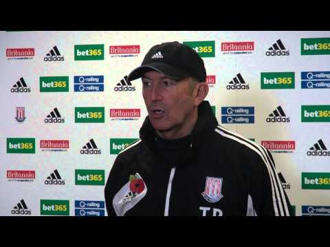 Tony Pulis on Ryan Shawcross