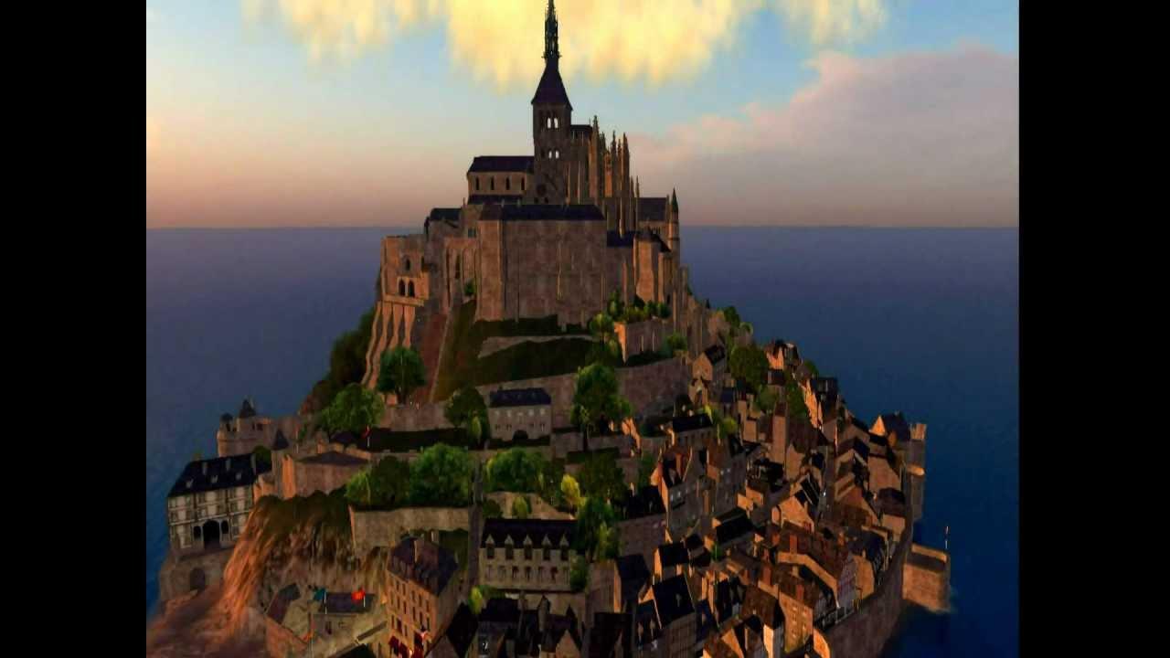 Mont Saint-Michel (France) - YouTube