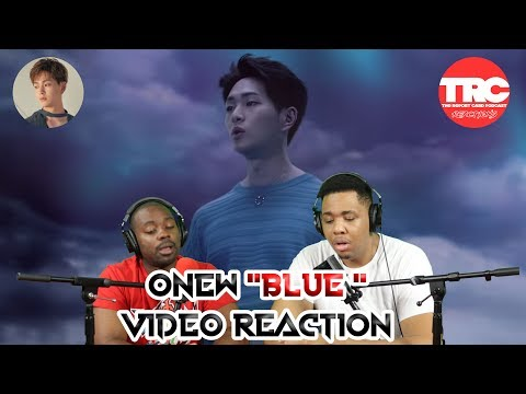 "Onew ""Blue"" Music Video Reaction"