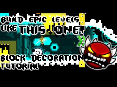 BUILD EPIC LEVELS! Tutorial EP 2 - Block Design - Geometry Dash 2.1