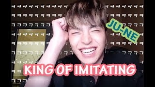 FUNNY JU-NE iKON KING OF IMITATING [ BIGBANG iKON BLACKPINK WINNER ZIONT]