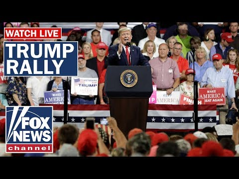 Live: Trump hosts campaign rally in Cincinnati, Ohio