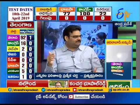 Telangana Election Results | KCR led TRS zooms ahead in early trends | celebrations start