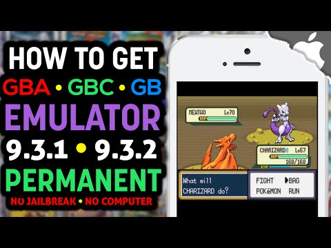 NEW! Play GBA4iOS a GBA. GBC. Gameboy EMULATOR on your iOS 9.3.1 & 9.3.2 Device FREE! (NO JAILBREAK)