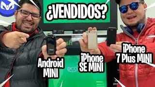 VENDIENDO LOS 3 iPhone MINIS MAQUINA DE WALMART