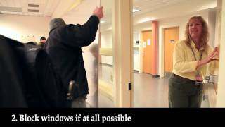 Emergency Lockdown Drill   Clark College, Vancouver WA