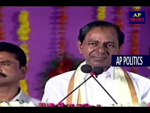 CM KCR SUPER Speech and Indirect Comments On Chandrababu   TRS Public Meeting Medak AP Politics