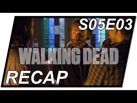 The Walking Dead Recap #03 | TWD Staffel 5 Folge 3 - S05E03 | Menschenfressermenschen