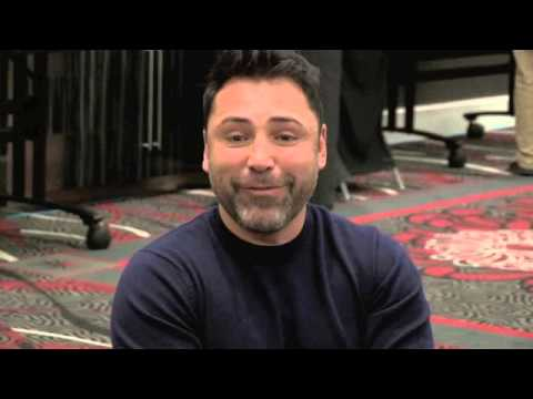 OSCAR DE LA HOYA ON HOW HIM & BOB ARUM SPOKE AFTER YEARS & SAYS THEY'RE 'ON THE SAME PAGE' / IFL TV
