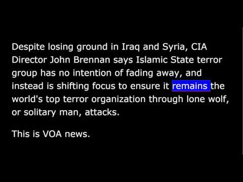 VOA news for Friday, June 17th, 2016