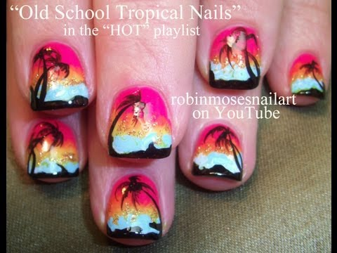 Tropical Flowers Inspired Nail Tutorial | How To Make & Do Everything!