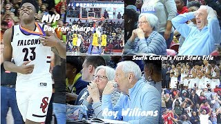 Roy Williams witness Day'ron Sharpe Take Over in State Championship Game!!!!! UNC COMMIT!! C/o 20'