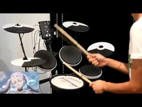 Black Clover (TV) OP 2 -【PAiNT it BLACK】by BiSH - Drum Cover