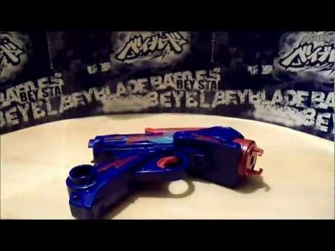 Beyblade Metal Masters BEYBLASTER Unboxing and Review