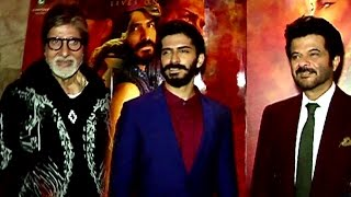 UNCUT Mirzya Movie Special Screening - Amitabh, Anil Kapoor With Son Harshvardhan