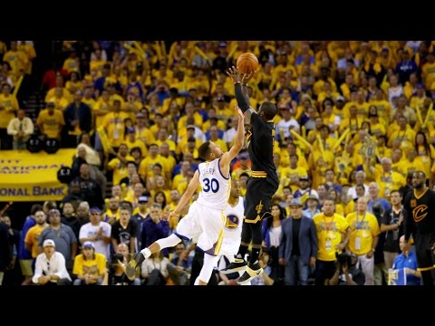Watch Kyrie Irving Make The Series Winning Shot Of The 2016 NBA Finals