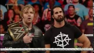 Dean Ambrose, Seth Rollins, AJ Styles and Jhon Cena segment-RAW 27/06/2016- 1080p Bernardo Blank