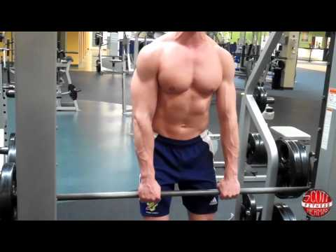How To: Smith Machine- Upright-Row Image 1