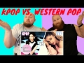 KPOP VS. WESTERN POP REACTION   KPOP VS. 서양의 POP 반응