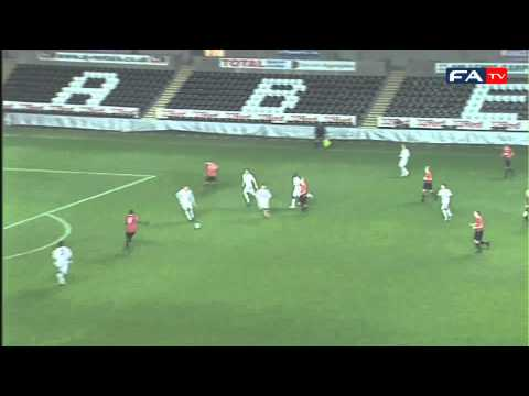 Swansea 1-5 Manchester United | FA Youth Cup Official Highlights 02-02-12