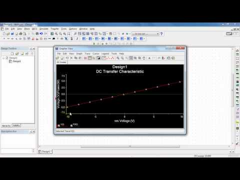 NI Multisim: DC Sweep Analysis