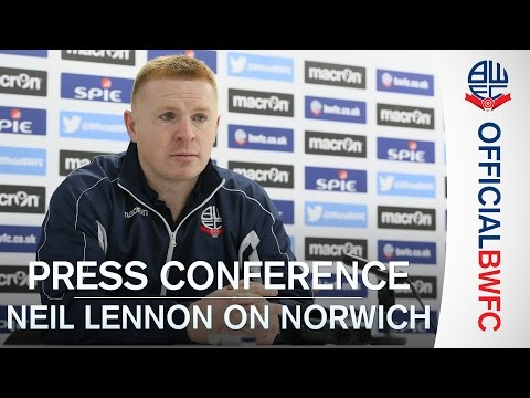 PRESS CONFERENCE | Neil Lennon previews Norwich game