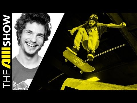 Torey Pudwill, aka T-Puds, Skates to the Top Then Starts Grizzly Grip, The Alli Show