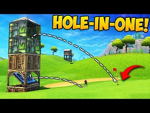 WORLD'S GREATEST GOLF TRICKSHOT! - Fortnite Funny Fails and WTF Moments! #260 (Daily Moments)