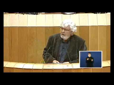 Beiras sobre as preferentes no Parlamento de Galiza 12 02 2013