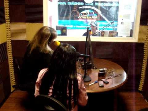 Entrevista na rádio America 1700 emNew Jersey - USA