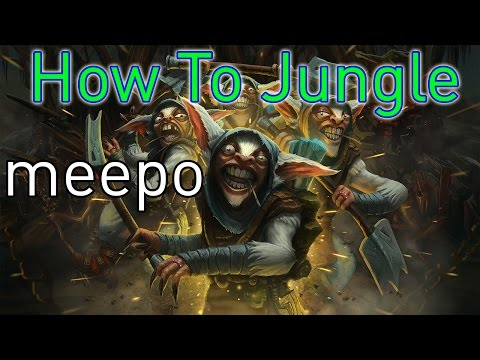 DoTa 2 How To Jungle Meepo