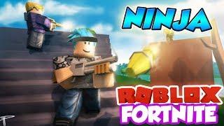THE NINJA OF ROBLOX FORTNITE *GREAT KILLS* (Island Royale)