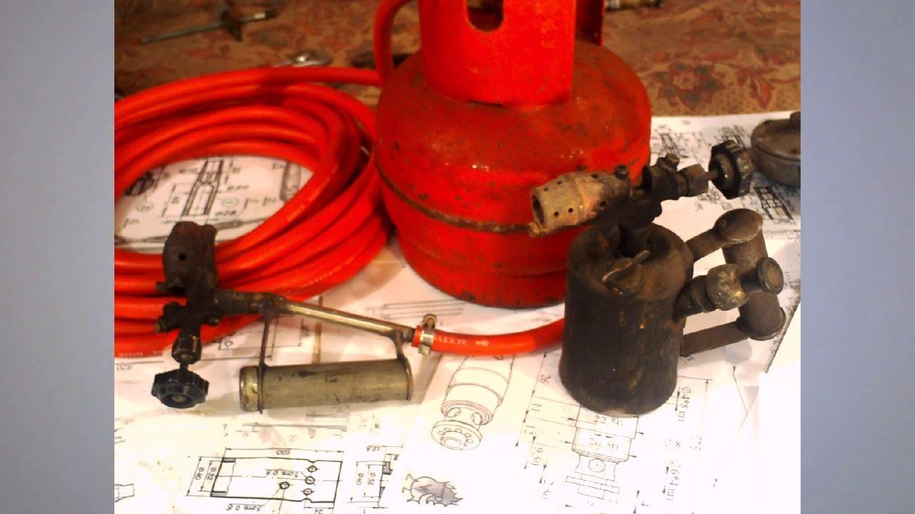 Как сделать газовую горелку из чего