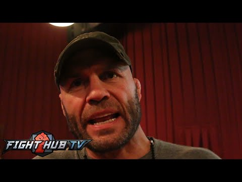 Randy Couture on the GOAT in MMA - Anderson SIlva, Fedor or St-Pierre?