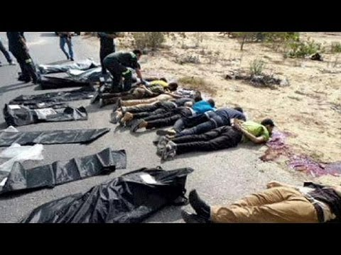 Islamists execute 25 police officers in Egypt's Sinai region