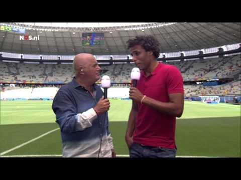 Van Hooijdonk: het is een bakoven | WK Voetbal 2014
