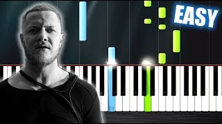Download Lagu Imagine Dragons - Thunder - EASY Piano Tutorial by PlutaX Gratis STAFABAND