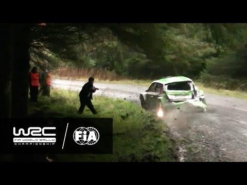 WRC 2 - Dayinsure Wales Rally GB 2016: (No) CRASH Esapekka Lappi