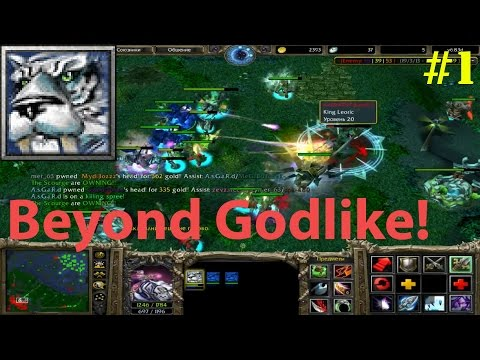 DoTa 6.83d - Mirana, Priestess of the Moon ★ Beyond GODLIKE! #1
