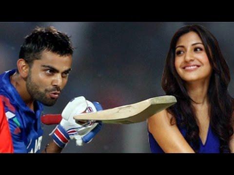 Virat Kohli BLOWS A KISS to Anushka Sharma at India V/S Sri Lanka 2014 MATCH