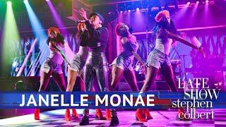 Janelle Monae Performs 39 Make Me Feel 39