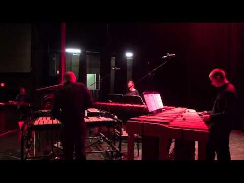"""Steve Reich's """"Mallet Quartet"""" - Lake Highlands High School Percussion Ensemble"""