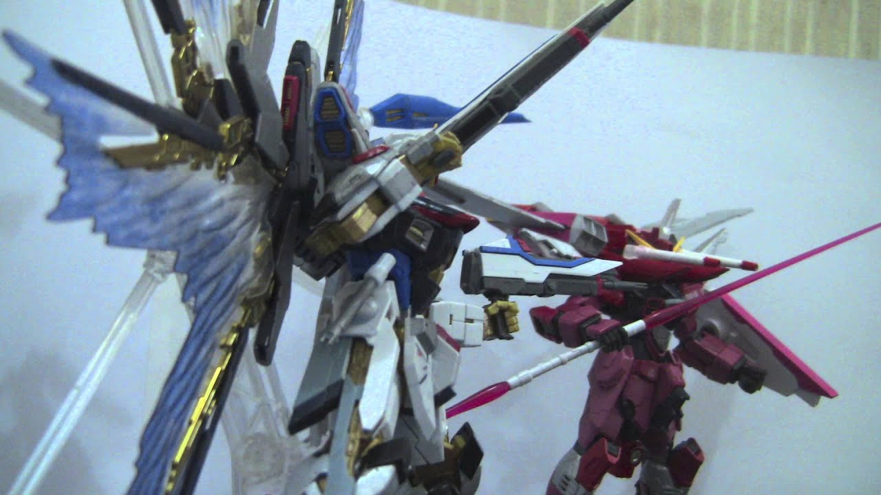 Strike Freedom And Infinite Justice Wallpaper rg Strike Freedom Infinite