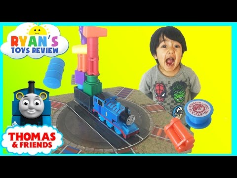 Thomas And Friends Tipsy Topsy Turvy Board Game Family Fun toy for kids Thomas Train Egg surprise