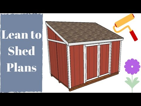 Permalink to how to build a shed free plans