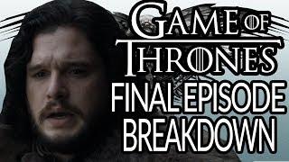 GAME OF THRONES Season 8 Episode 6 Breakdown, Recap and Theories   The Iron Throne   Final Episode